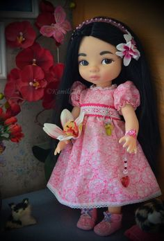 Disney Toddler Dolls, Disney Princess Dolls, Disney Dolls, Mulan Doll, Disney Animator Doll, Girl Doll Clothes, Girl Dolls, Tiana, Disney Animators Collection Dolls