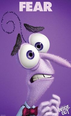 "Meet Fear, the star of Disney-Pixar's ""Inside Out,"" opening in theaters in 3D on June 19, 2015."