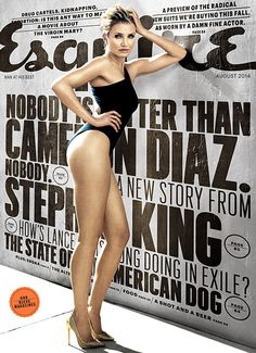Cameron Diaz has never looked better. At the age of 41, she looked beyond amazing in her sexy Esquire photo shoot. Click through to read about why Cameron went fully nude on film!