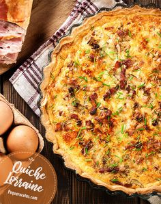 Quiches, Bacon Quiche, Oven Dishes, Sweet And Salty, Empanadas, Sin Gluten, Bakery, Good Food, Food And Drink