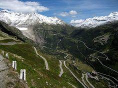 Megacurioso - Férias? Confira 20 estradas sensacionais que valem a viagem 2. Furka Pass – Suiça