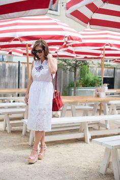 White summer dresses - Noir Friday