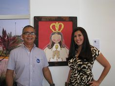 Virgencita del Valle Colección privada con un amigo y colega apreciado