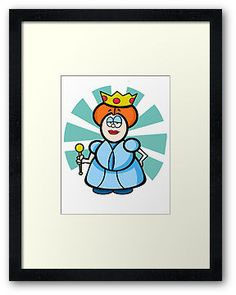 Cartoon Queen Illustration