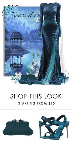 """""""Baydzar"""" by flattery-guide ❤ liked on Polyvore featuring Lake, Zuhair Murad, Kaliko, Burberry and Alexis Bittar"""