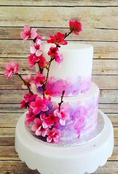 33 Exquisite Mini Wedding Cakes For Your Inspiration ❤ mini wedding cakes pink flowers on cake pinkprincesscakes #weddingforward #wedding #bride