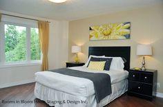 Staged luxury Master Bedroom