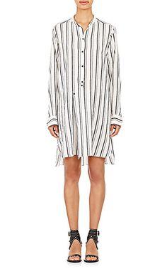 Isabel Marant Gauze Utah Tunic Dress - Short - Barneys.com
