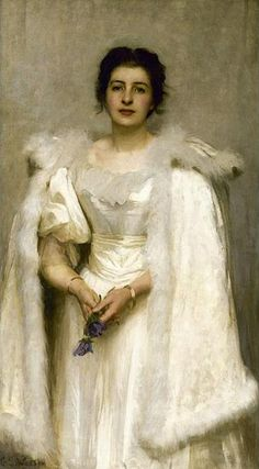 ▴ Artistic Accessories ▴ clothes, jewelry, hats in art - George Spencer Watson
