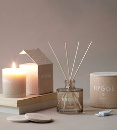 Dressing for Autumn: Scandi Interior tips blog post featuring the 'Hygge' candle by Skandinavisk