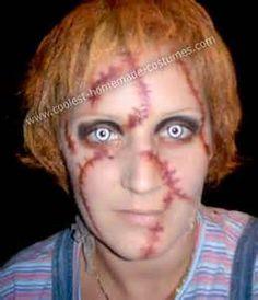 chucky makeup tutorial | Halloween Makeup | Pinterest | Chucky ...