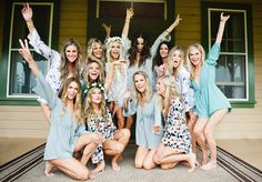 show me your mumu rompers for bridesmaids