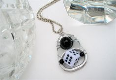 Hand-wired Pop Tab Pendant Necklace - Lucky