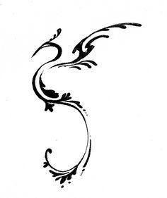 Un pequeño diseño para tatuaje.