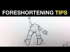 How to Draw: Foreshortening with the Coil Technique - YouTube
