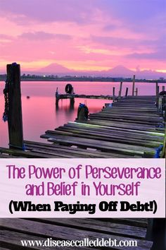 The power of perseverance is often underestimated, especially when it comes to paying off debt. Yet without perseverance, how is it possible to succeed? Debt, Debt Payoff #Debt