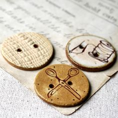 #buttons #sewing #ceramics