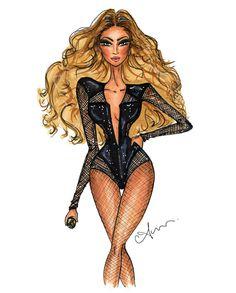 Beyoncé, by anum