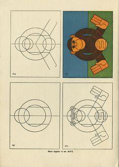 Hans Hauger | monkey illustration ✭ vintage drawing book