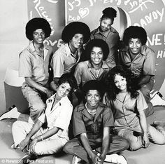 The Jacksons with MIA Jermaine
