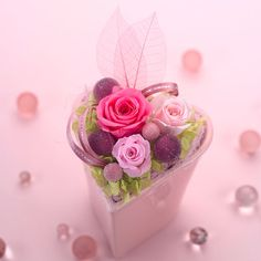 Pink box of candy ✿⊱╮