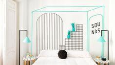 Valencia Lounge Hostel #hotel #interiordesign