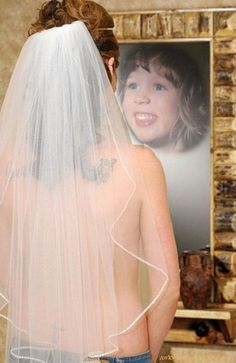 Bride was a dang ugly kid