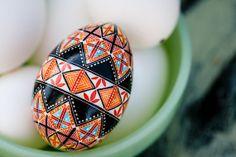 CYBER MONDAY! ---- Pysanky, Ukrainian Easter Egg, Batik, Decorated egg, Charity
