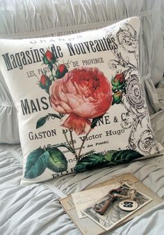 Maybe a theme like this for the girls room. Mia's middle name is rose after all... And it's Layla's birth flower