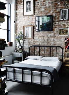 Home Interiors: Exposed Brick Walls - Alphabet Lifestyle Design tips http://alphabetlifestyle.com/2016/02/21/home-interiors-exposed-brick-walls/