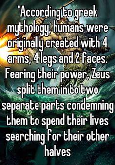 Greek mythology on love
