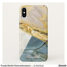 Shop Trendy Marble Texture,Geometric- Personalized Case-Mate iPhone Case created by Biglibigli. Stone Texture, Marble Texture, Pretty Iphone Cases, Stone Veneer, Gold Marble, Textures Patterns, Plastic Case, Blue Gold, Apple Iphone