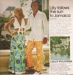 Lilly Pulitzer Vintage Crop Top Look in Jamaica Um, Lilly's are too heavy for Jamaican heat Preppy Outfits, Preppy Style, Cute Outfits, My Style, Beach Outfits, 60s And 70s Fashion, Vintage Fashion, Lilly Pulitzer Prints, Lily Pulitzer