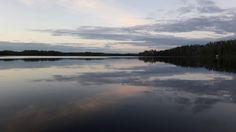 Heinäkuun ilta #Puula #lake #Finland #july #Hirvensalmi
