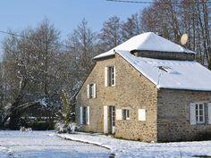 Location vacances maison La Baconnière: Grande maison de l'île de poupardière