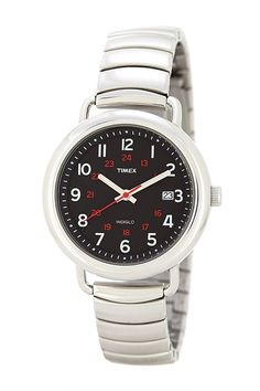 Timex Womens Premium Classics Black INDIGLO Dial Stainless Steel Watch T2P016 *** Check this awesome watch by going to the link at the image.