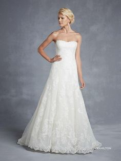 Hamilton esküvői ruha
