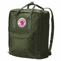 Fjallraven Kanken Backpack in Forest green