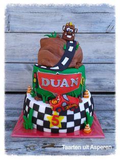 Cars taart voor Duan