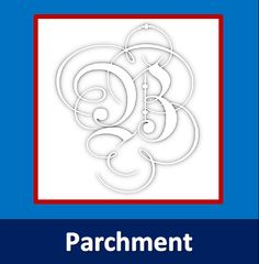 Schrift: Parchment - B