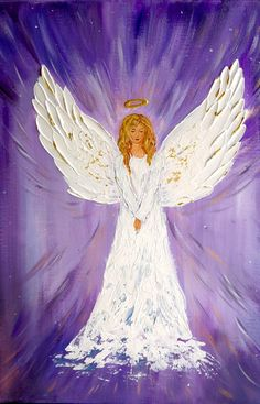 Original Angel painting Guardian Angel White Angel wings wall decor Angel on canvas Angel of Light angel gift Child Baptism Gift for Baptism Angel Wings Wall Decor, Angel Decor, Christmas Paintings, Christmas Art, Ship Paintings, Angel Paintings, Angel Wings Painting, White Angel Wings, Art Amour