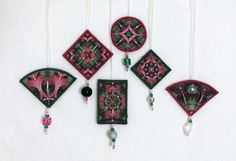 Get the Holiday Inchie ornaments printable FREE with purchase of the Stardust Inchie Quilt pattern before December 31, 2015
