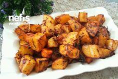 Kremalı Salçalı Nefis Patates Havuç Küpleri