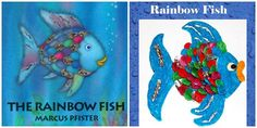 The Rainbow Fish - literacy and activities for preschool!
