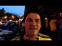 Edwin es un colombiano que vive en Chile y sufrió mucho con la clasificación de Colombia.