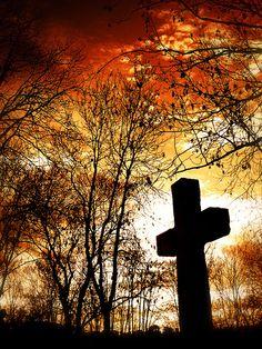 Cross . God . Faith . Religion (L'Adieu) by Tiquetonne2067, via Flickr ~  Père Lachaise . Paris . France