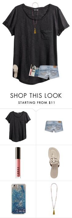 """what are you doing today to celebrate Father's Day!?"" by texasgirlfashion ❤ liked on Polyvore featuring H&M, Hollister Co., LORAC, Tory Burch and French Connection"