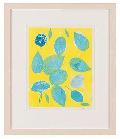 Marc Ellen Hamel Bright Day framed original monotype
