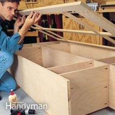 Building Cabinets With Pocket Screws - Intimidated by cabinet work? Even a novice can make fine joints with pocket screws