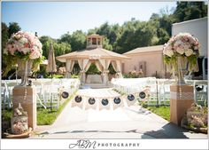 Blush, Wedding flowers, Ceremony, Vintage, Rustic Elegance, Los Willows Wedding Estate